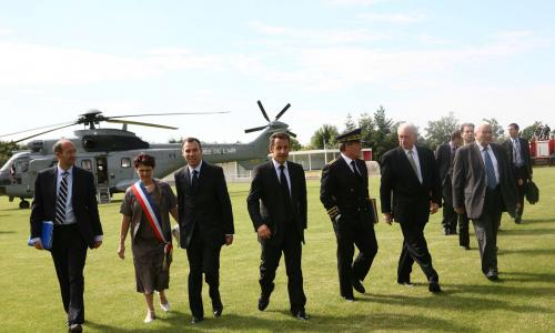 Nicolas Sarkozy, Eric Woerth, Michel Hunault