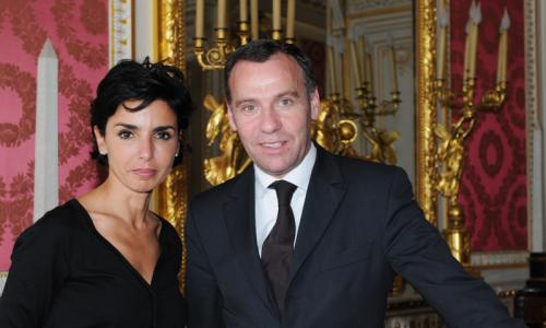 Rachida Dati avec Michel Hunault